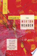 A Guide to the Norton Reader, Eleventh Edition
