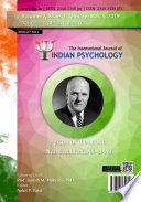 INTERNATIONAL JOURNAL OF INDIAN PSYCHOLOGY