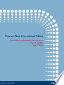 Foundations of Behavioral Neuroscience: Pearson New International Edition PDF eBook