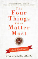 Pdf The Four Things That Matter Most - 10th Anniversary Edition Telecharger