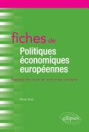 Pdf Fiches de Politiques économiques européennes Telecharger