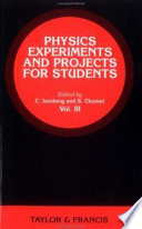 Physics Experiments and Projects for Students