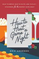 How to Host a Game Night [Pdf/ePub] eBook