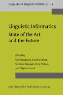 Pdf Linguistic Informatics – State of the Art and the Future Telecharger