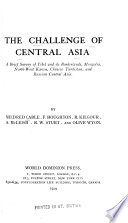 The Challenge of Central Asia