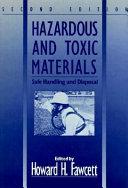 Hazardous and Toxic Materials