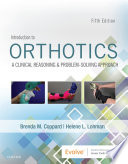 Introduction to Orthotics E Book Book