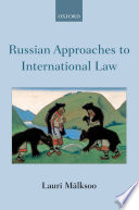 Russian Approaches To International Law Book PDF