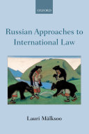 Russian Approaches to International Law Pdf/ePub eBook