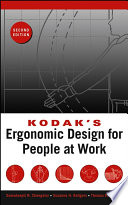 """Kodak's Ergonomic Design for People at Work"" by The Eastman Kodak Company"