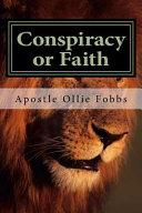 Conspiracy Or Faith Book PDF