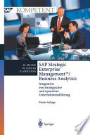 SAP Strategic Enterprise ManagementTM/Business Analytics