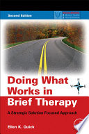 Doing What Works In Brief Therapy Book PDF