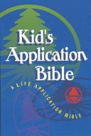 Kids Application Bible