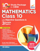 10 in One Study Package for CBSE Mathematics Class 10 with Objective Questions   3 Sample Papers 4th Edition