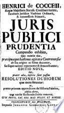 Juris publici prudentia