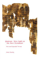 Qumran: New Light on the New Testament