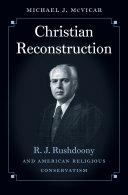 Christian Reconstruction