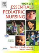 Wong S Essentials Of Pediatric Nursing