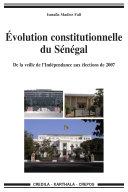 Évolution constitutionnelle du Sénégal