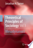 Theoretical Principles of Sociology  Volume 3