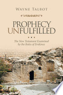 Prophecy Unfulfilled