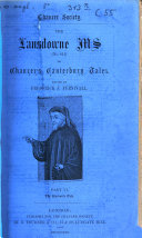 Pdf ¬The Lansdowne Ms of Chaucer's Canterbury Tales