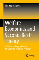 Welfare Economics and Second Best Theory