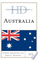 Historical Dictionary of Australia