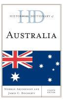 Historical Dictionary of Australia Pdf/ePub eBook