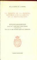La imagen de la primera república en la España de la restauración
