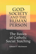 God  Society and the Human Person