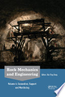 Rock Mechanics and Engineering Volume 4