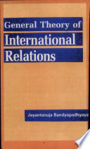 A General Theory of International Relations