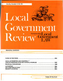 Local Government Review