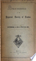 Proceedings of the Huguenot Society of London
