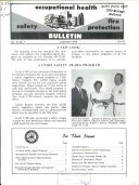 Safety  Occupational Health  Fire Protection Bulletin