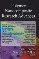 Polymer Nanocomposite Research Advances