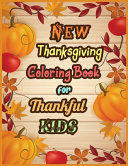 New Thanksgiving Coloring Book for Thankful KIDS