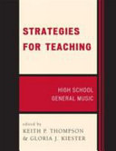 Strategies for Teaching High School General Music Book
