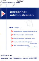 Institute in Personnel Administration Book