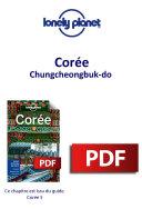 Pdf Corée - Chungcheongbuk-do Telecharger