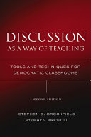 Discussion as a Way of Teaching