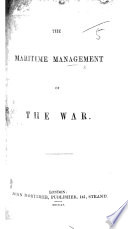 The Maritime Management of the War Book PDF