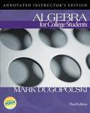 Algebra For College Students [Pdf/ePub] eBook
