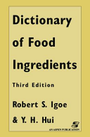 Dictionary of Food and Ingredients