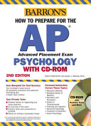 Barron s How to Prepare for the AP Psychology Advanced Placement Exam