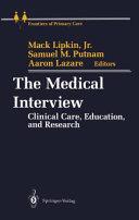 The Medical Interview Pdf/ePub eBook