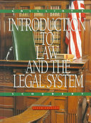 Grilliot s Introduction to Law and the Legal System