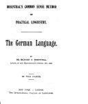 The German Language